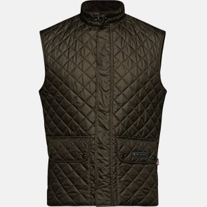 C50N0192 WAISTCOAT vest Slim | C50N0192 WAISTCOAT vest | Grøn